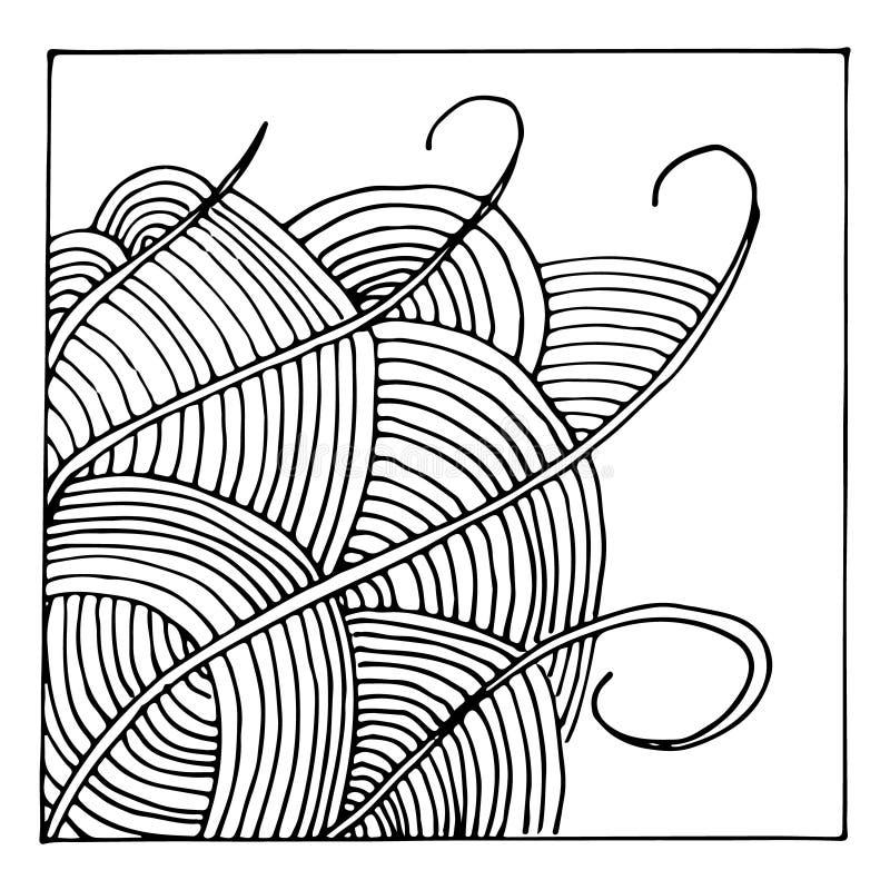 Illustrazione astratta di vettore illustrazione vettoriale