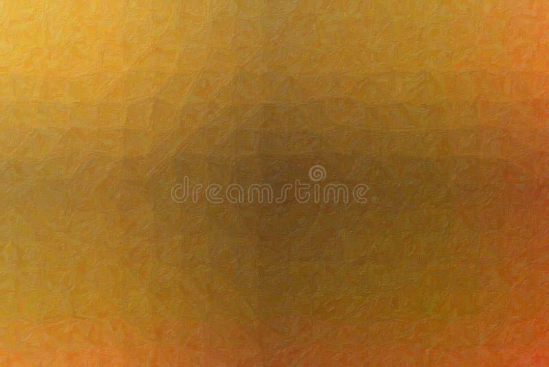 Illustrazione astratta piacevole della pittura realistica marrone e rossa di Impasto Fondo sbalorditivo per il vostro lavoro illustrazione vettoriale