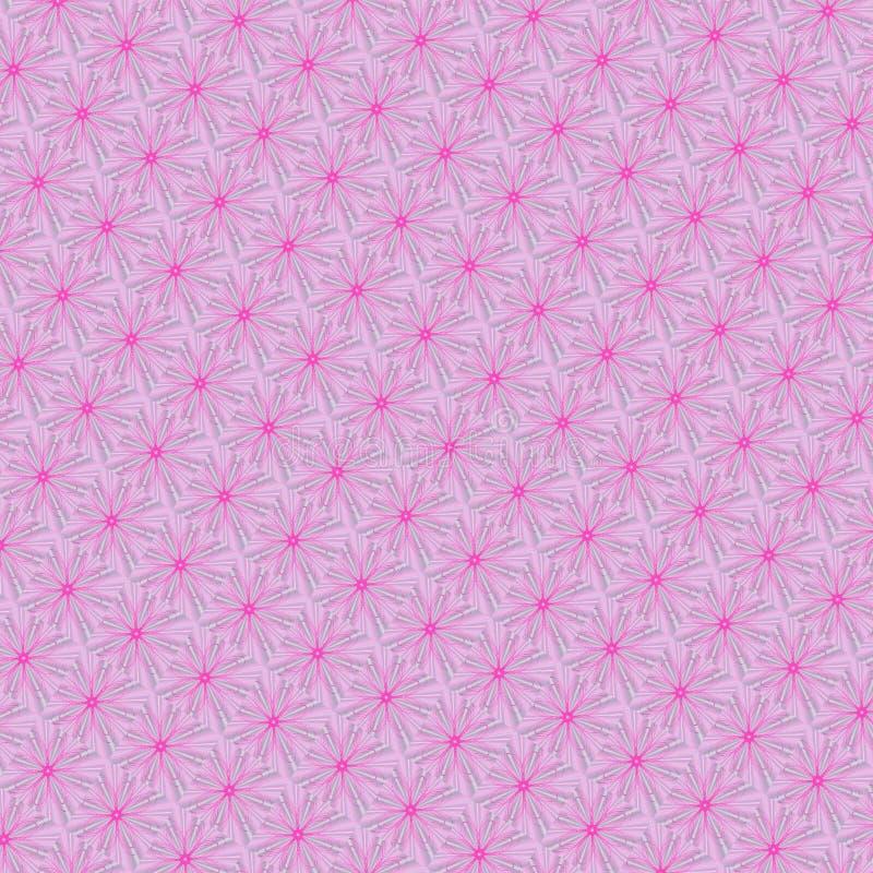 illustrazione astratta rosa del modello illustrazione di stock