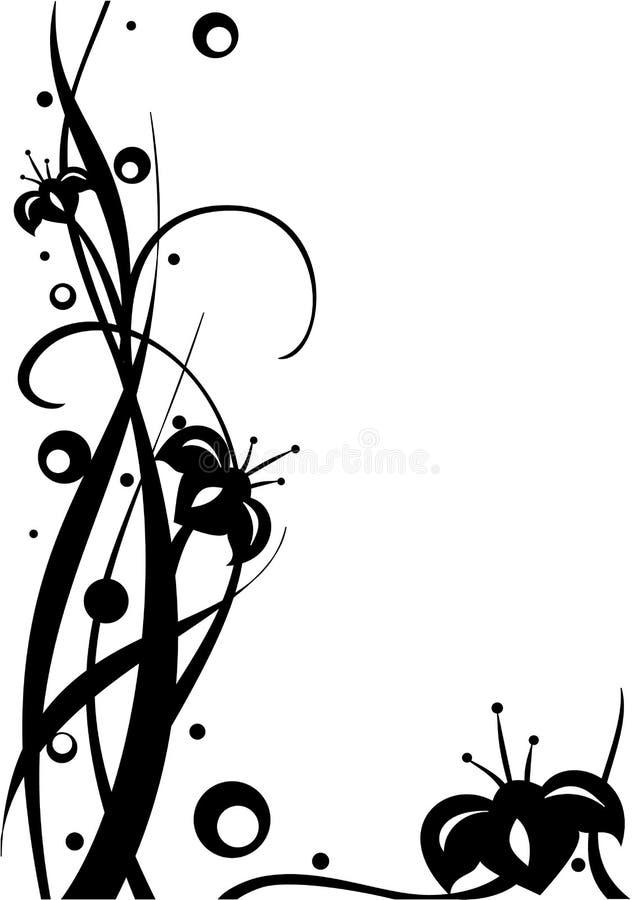 illustrazione Bianco-nera illustrazione di stock