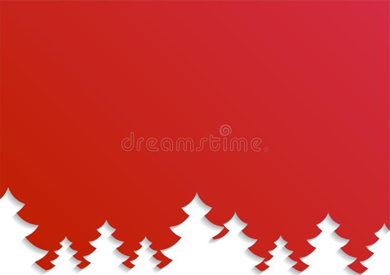 Illustrazione creativa di vettore del Buon Natale Cartolina di Natale, insegna o manifesto felice, nuovo anno Illustrazione di ve royalty illustrazione gratis