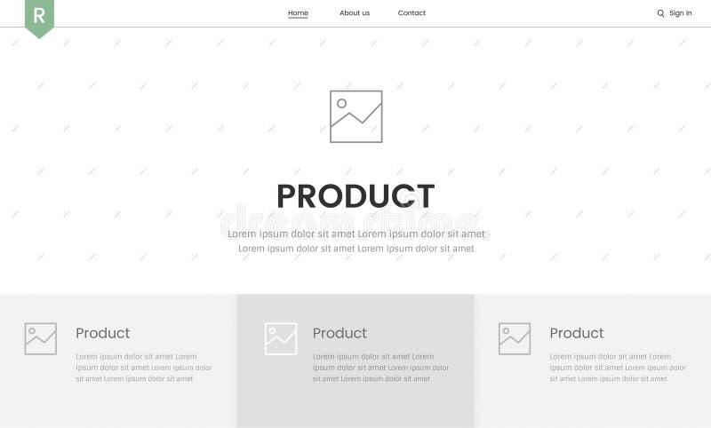 Elementi del sito web illustrazioni vettoriali e clipart for Sito di design