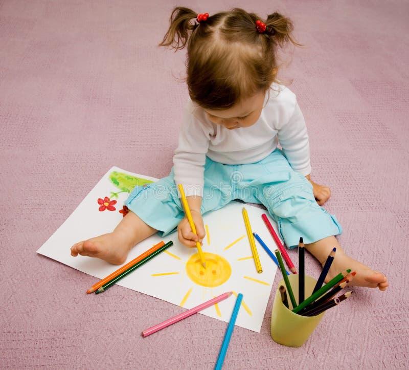 Illustrazione dei bambini immagini stock