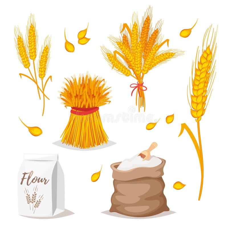 Illustrazione dei cereali - grano illustrazione di stock