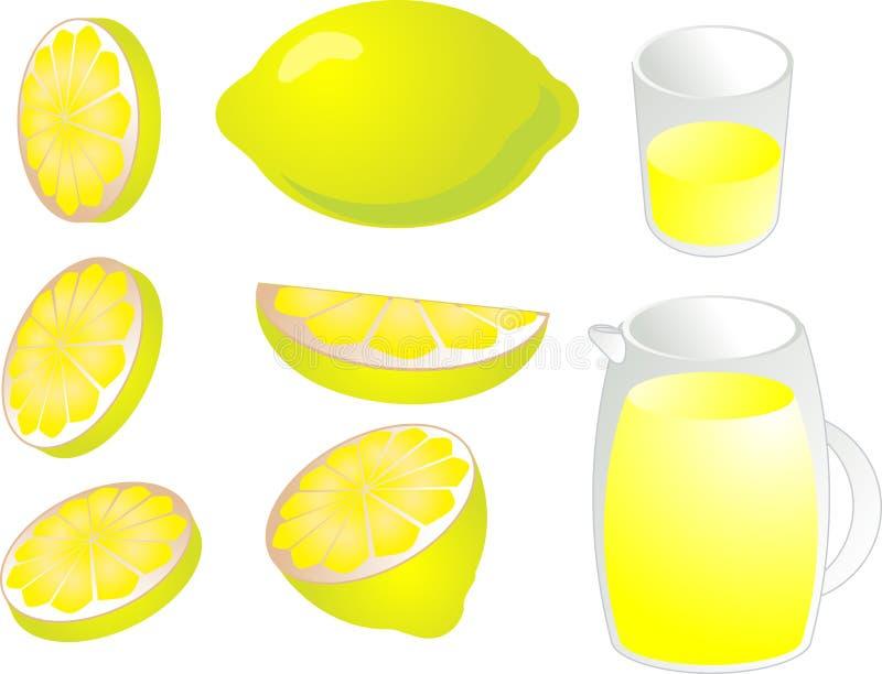 Illustrazione dei limoni illustrazione di stock
