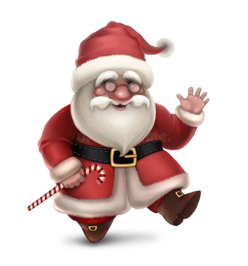 Illustrazione del Babbo Natale royalty illustrazione gratis