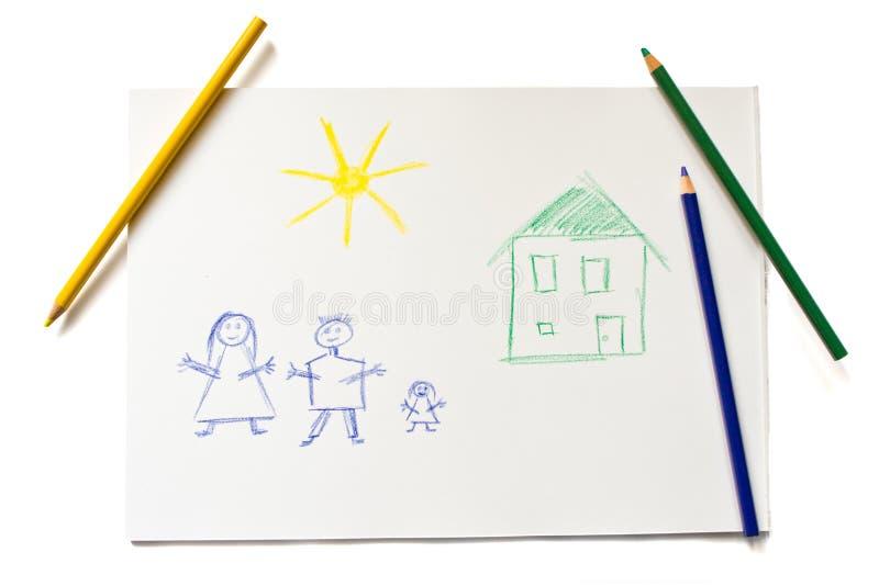 Illustrazione del bambino illustrazione vettoriale