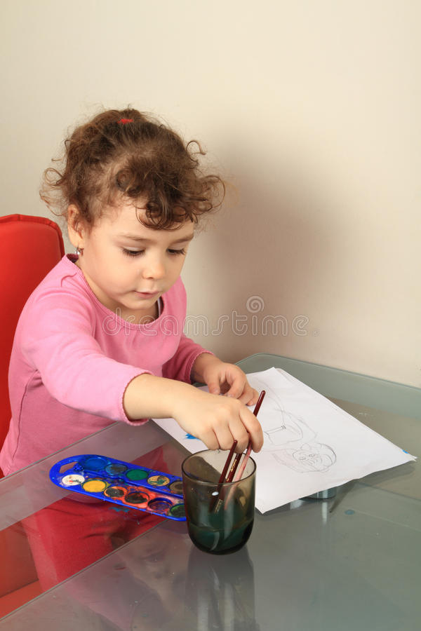 Illustrazione del bambino immagine stock libera da diritti