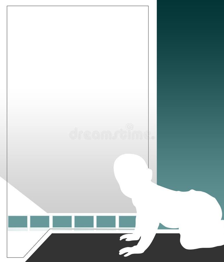 Illustrazione del bambino illustrazione di stock