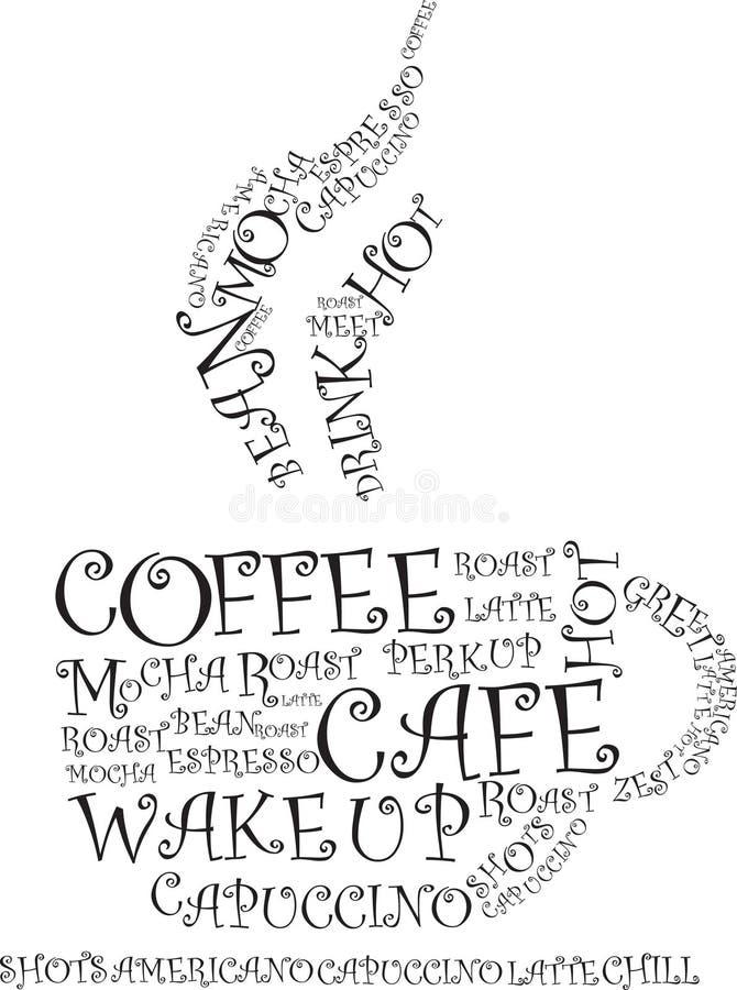 Illustrazione del caffè royalty illustrazione gratis
