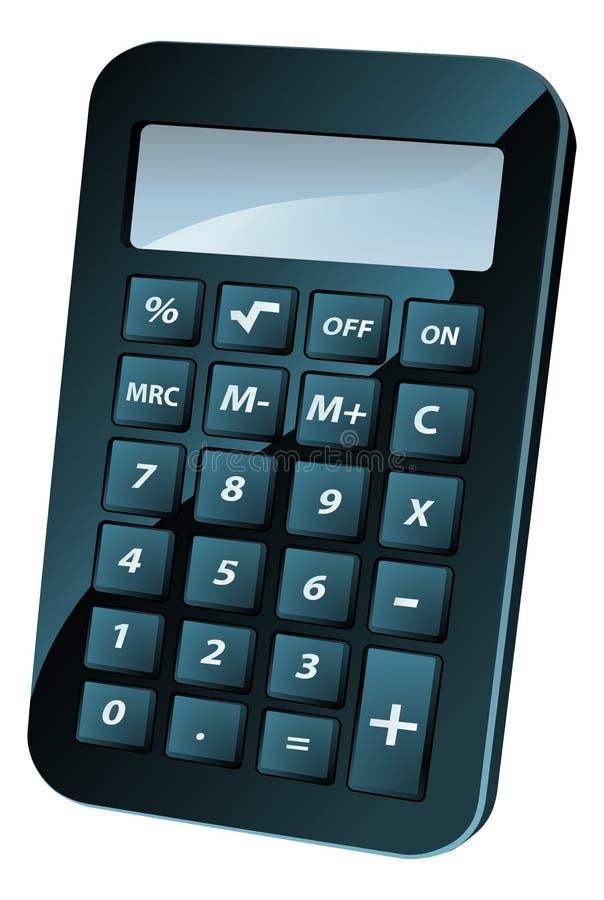 Illustrazione del calcolatore illustrazione vettoriale