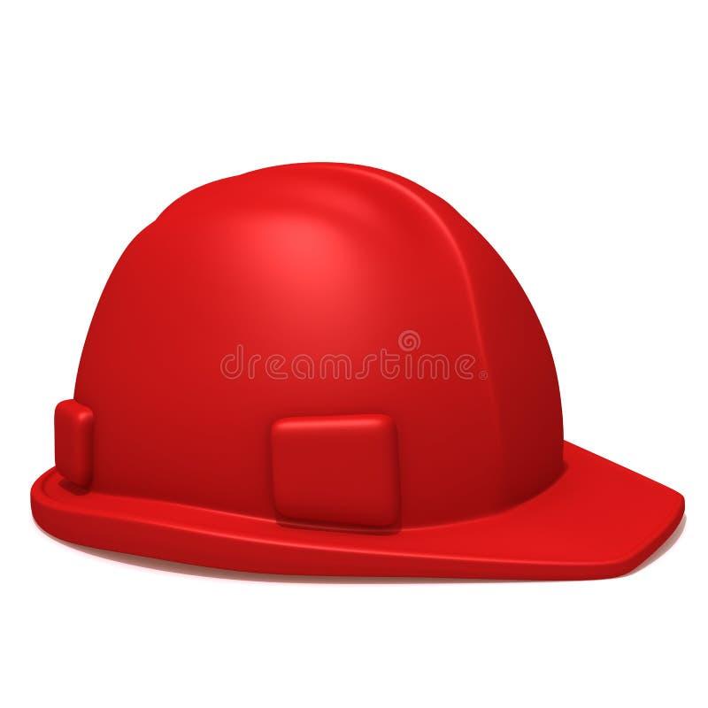 Illustrazione del casco 3d della costruzione royalty illustrazione gratis