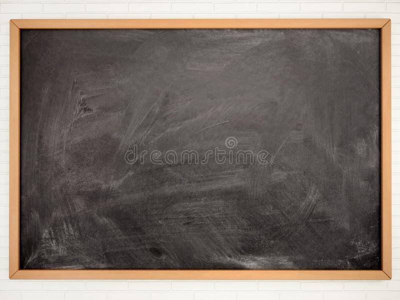 illustrazione del consiglio scolastico nero vuoto illustrazione vettoriale