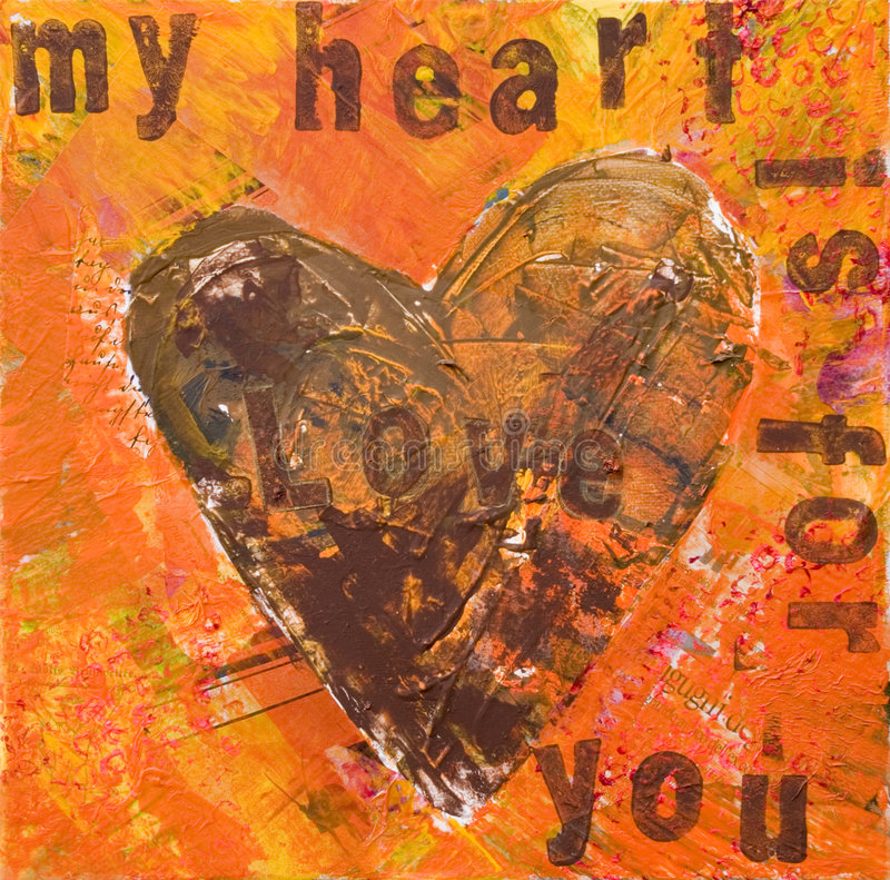 Illustrazione del cuore illustrazione vettoriale