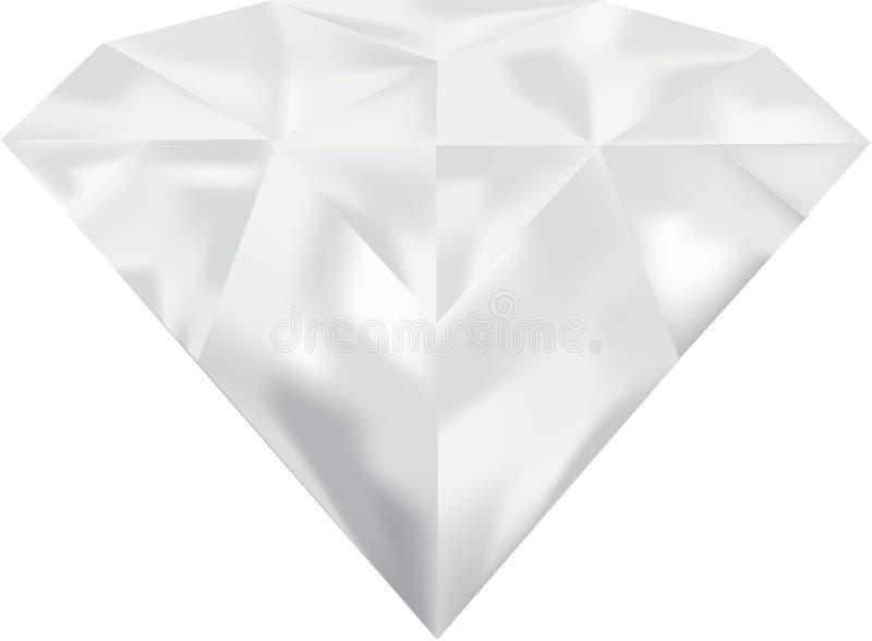 Illustrazione del diamante fotografia stock libera da diritti