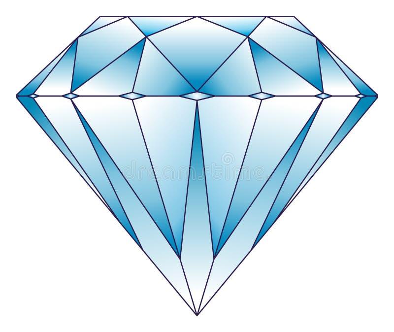 Illustrazione del diamante illustrazione vettoriale