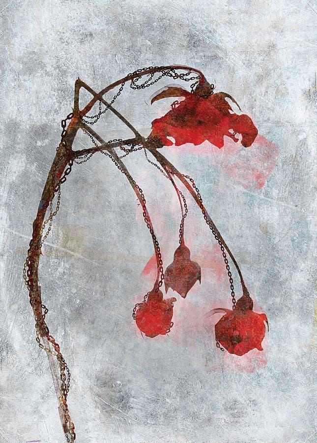 Illustrazione del fiore fotografia stock libera da diritti