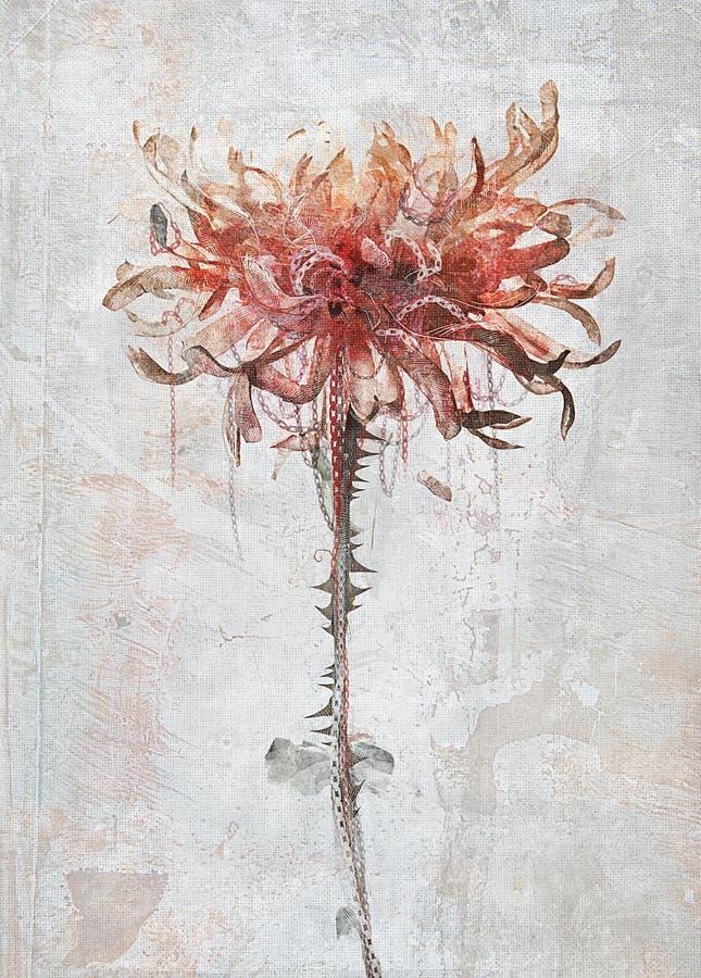Illustrazione del fiore immagini stock libere da diritti