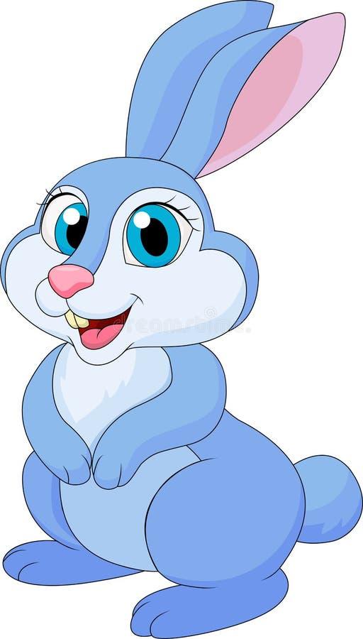 Fumetto sveglio del coniglio royalty illustrazione gratis
