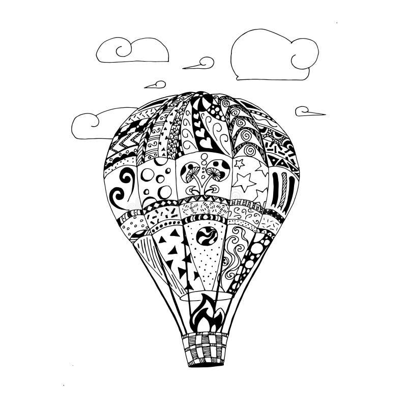 Illustrazione del grafico di vettore del pallone royalty illustrazione gratis