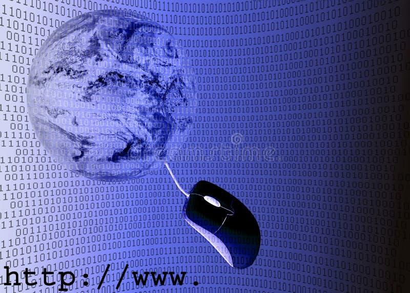 illustrazione del Internet 3D