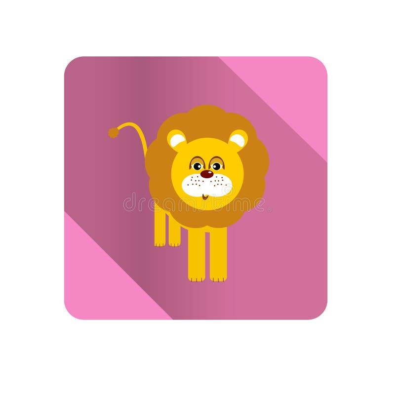 Illustrazione del leone fotografie stock