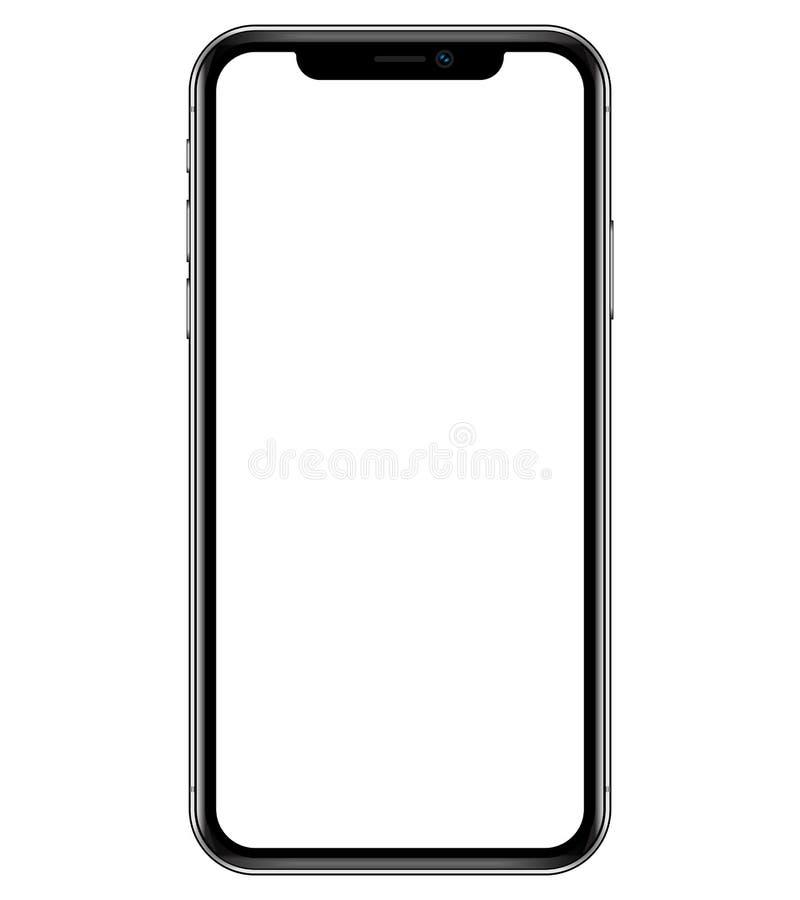 Illustrazione del modello di Smartphone fotografia stock
