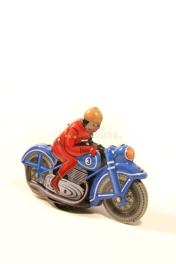 Illustrazione del motociclista fotografia stock