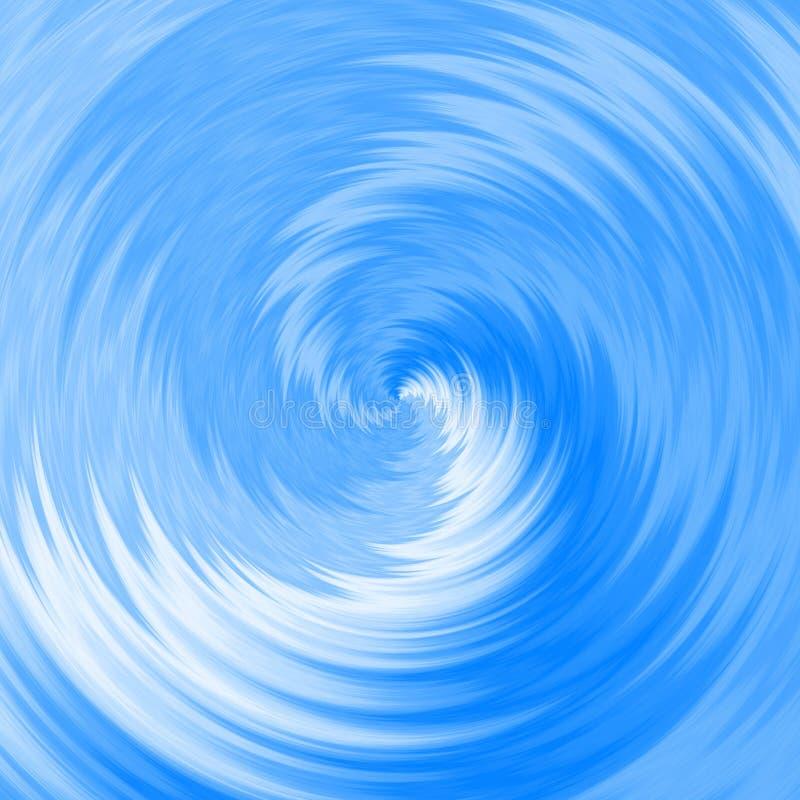 Illustrazione del mulinello dell'acqua blu & di x28; turbinio, vortice, ecc & x29; royalty illustrazione gratis