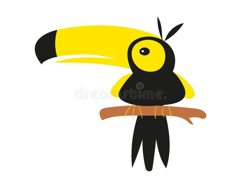 Illustrazione del pappagallo fotografie stock