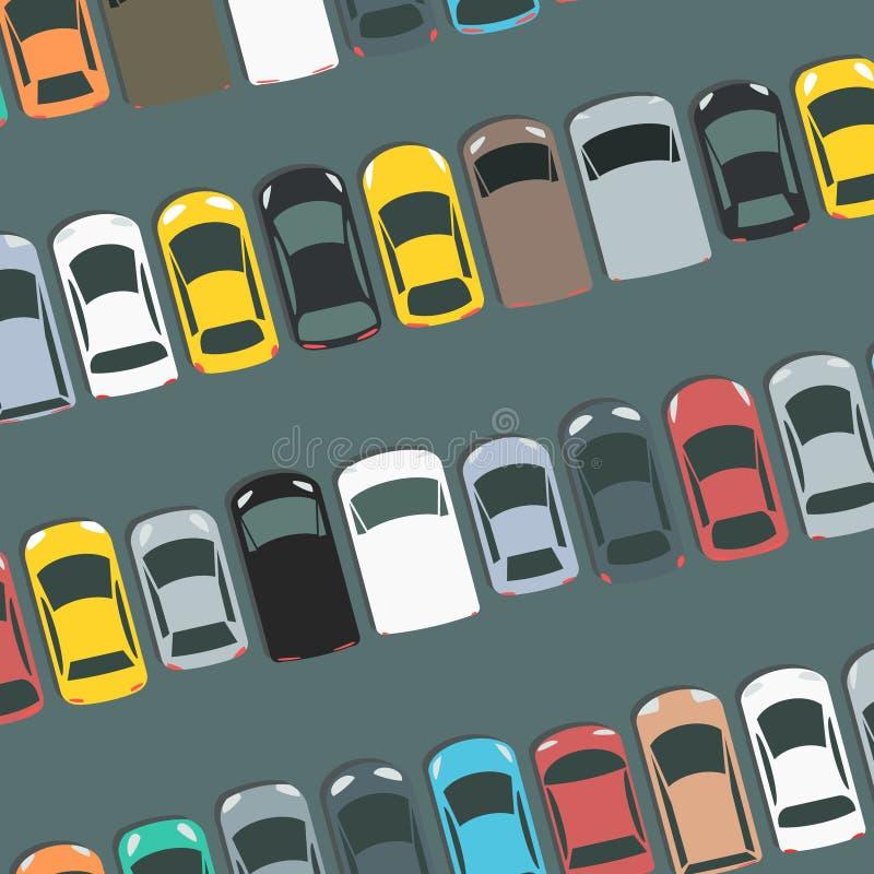 Illustrazione del parcheggio royalty illustrazione gratis