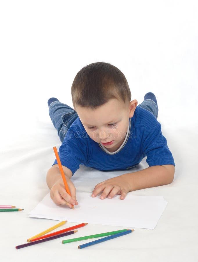 Illustrazione del ragazzino immagini stock