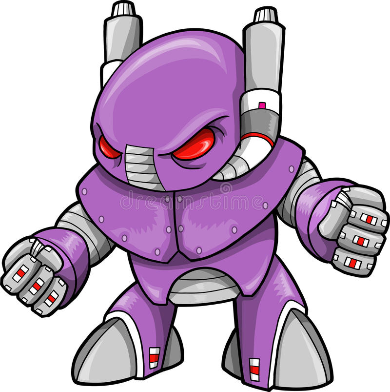 Illustrazione del robot royalty illustrazione gratis