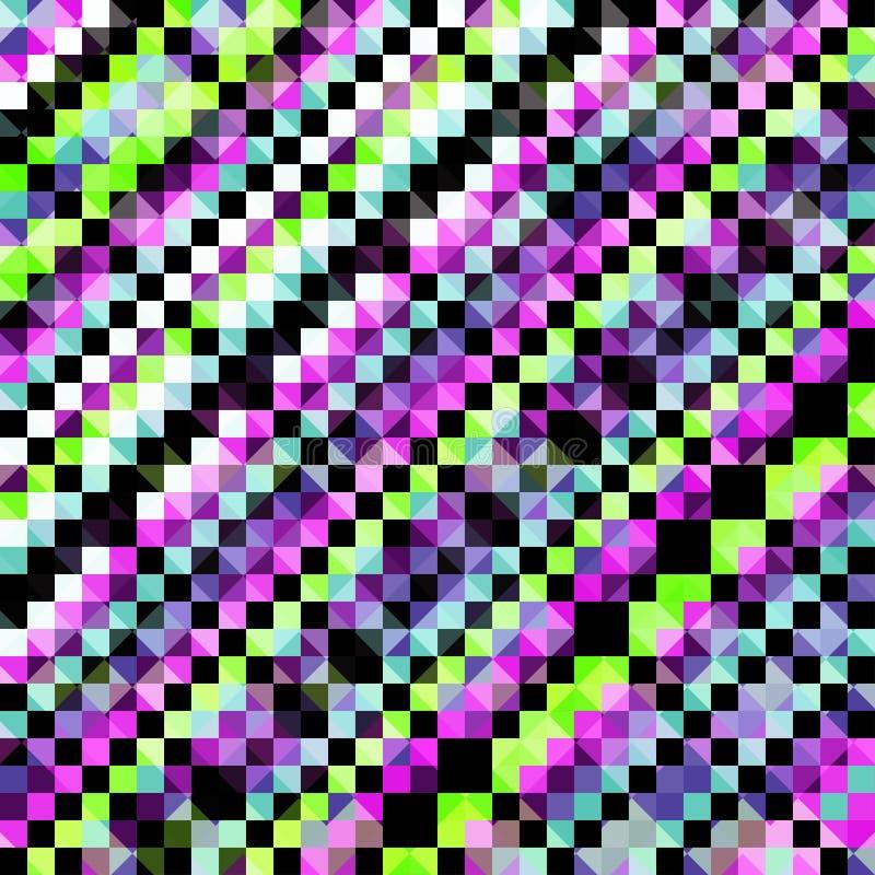 Illustrazione delicata di vettore del fondo di colore del pixel illustrazione di stock