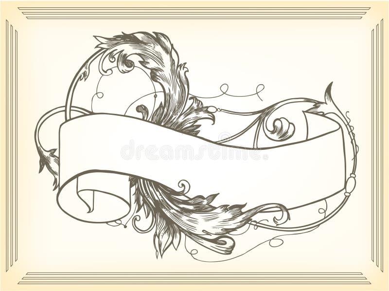 Illustrazione dell'annata illustrazione di stock