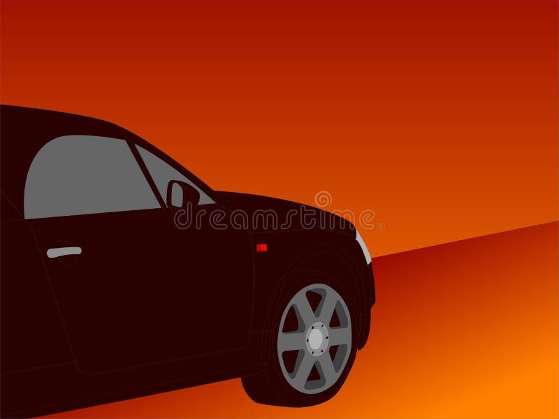 Illustrazione dell'automobile illustrazione di stock