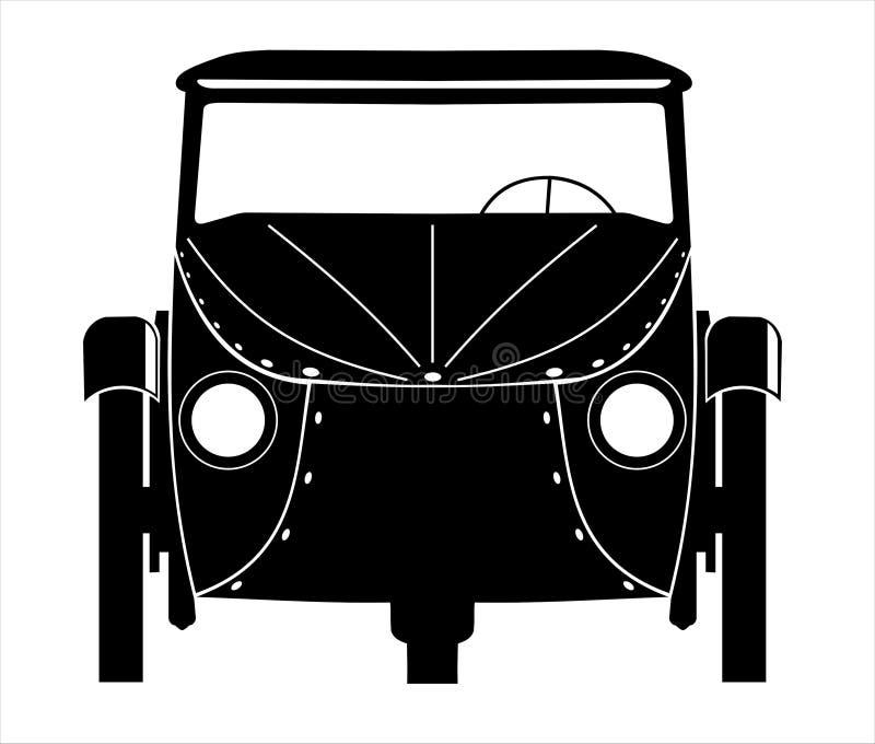 Illustrazione dell'automobile di Velorex fotografia stock libera da diritti