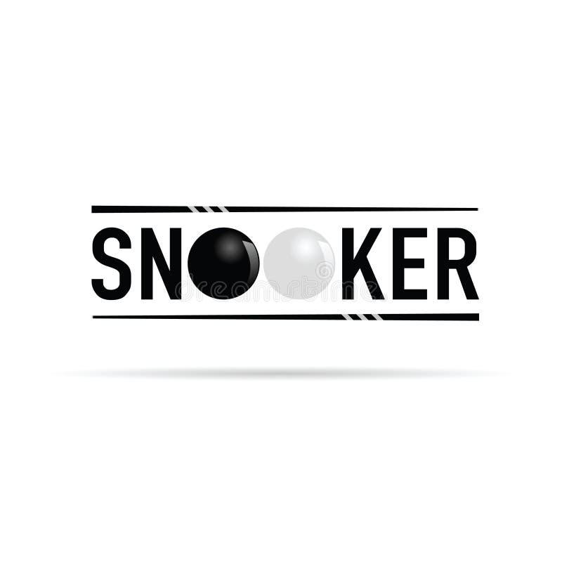 Illustrazione dell'icona dello snooker royalty illustrazione gratis