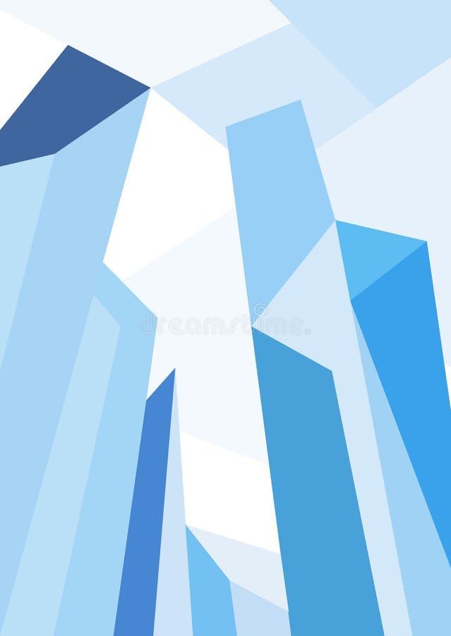 Illustrazione dell'orizzonte della città Paesaggio urbano Orizzonte di giorno della città royalty illustrazione gratis