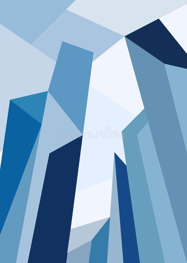 Illustrazione dell'orizzonte della città Paesaggio urbano Orizzonte di giorno della città illustrazione di stock
