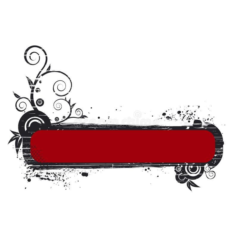 Illustrazione della bandiera illustrazione vettoriale