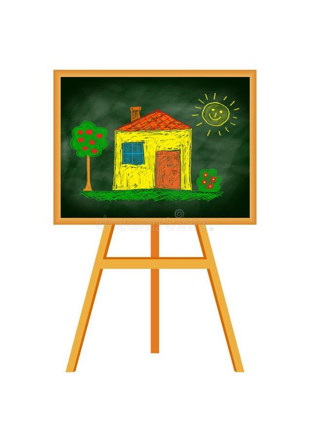 Illustrazione della casa illustrazione di stock