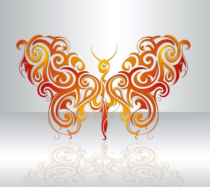 Illustrazione della farfalla illustrazione di stock
