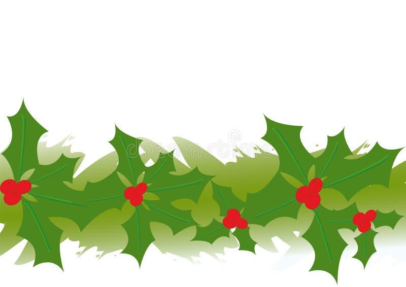 Download Illustrazione Della Ghirlanda Dell'agrifoglio Illustrazione Vettoriale - Illustrazione di celebrazione, evergreen: 7300207