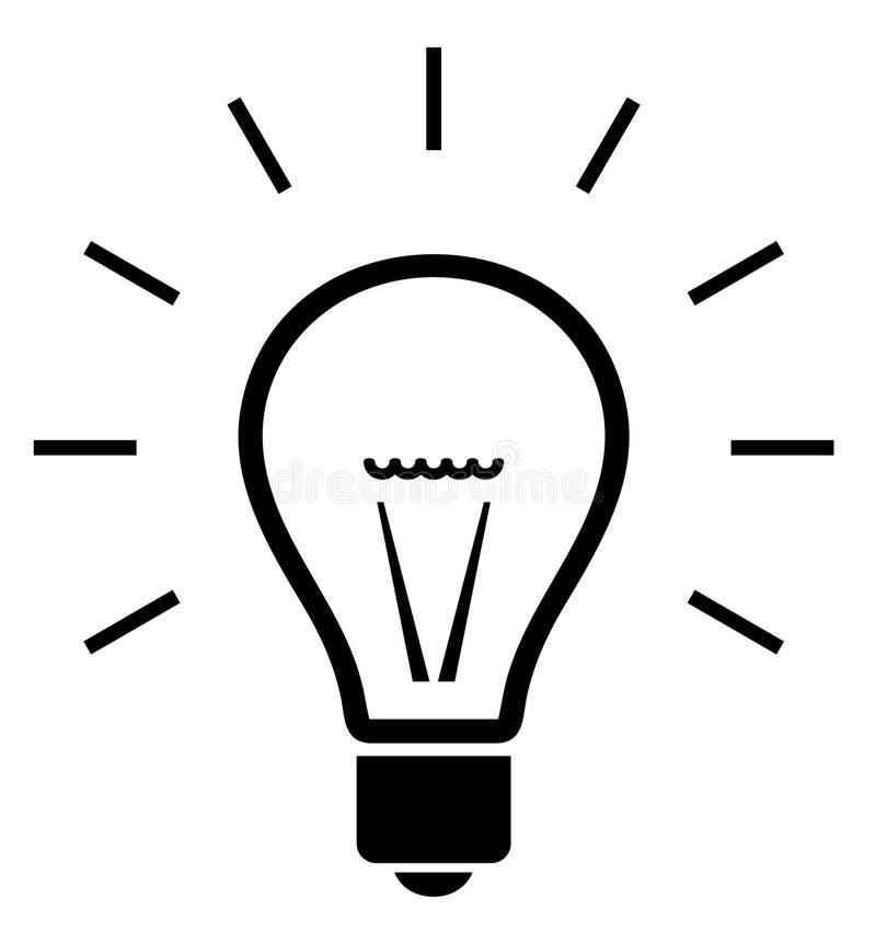illustrazione della lampadina illustrazione vettoriale
