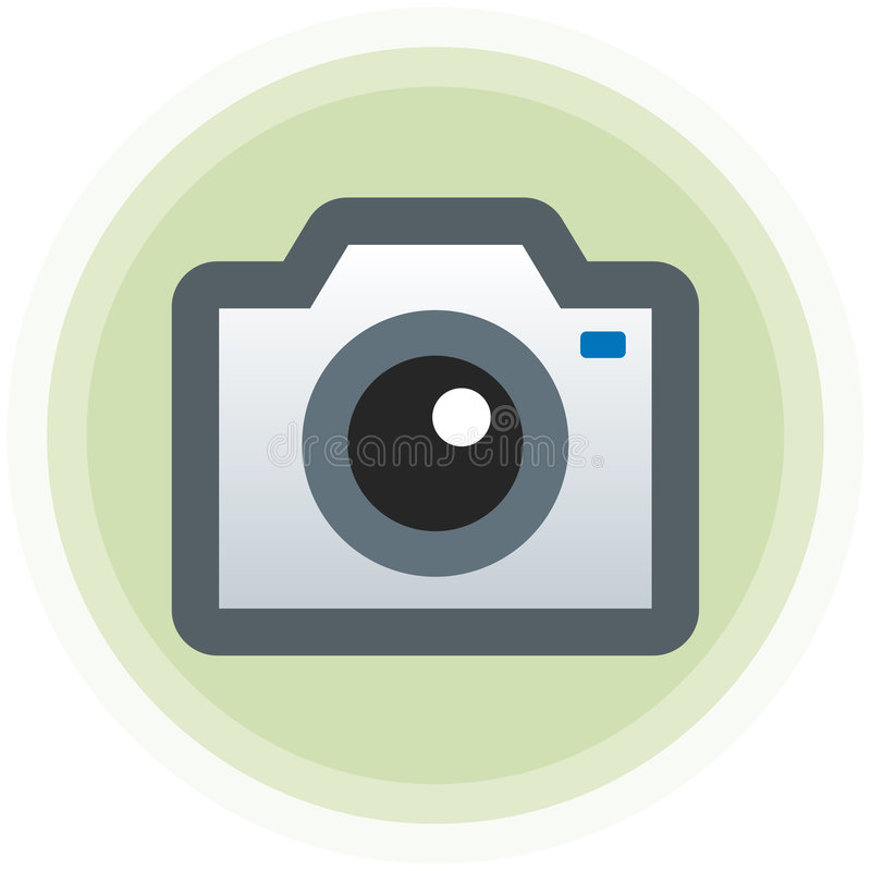 Illustrazione della macchina fotografica fotografica (vettore) immagini stock