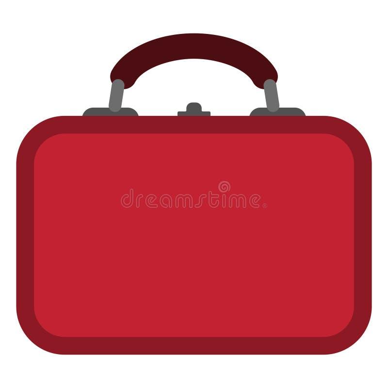 Illustrazione della scatola di pranzo illustrazione vettoriale