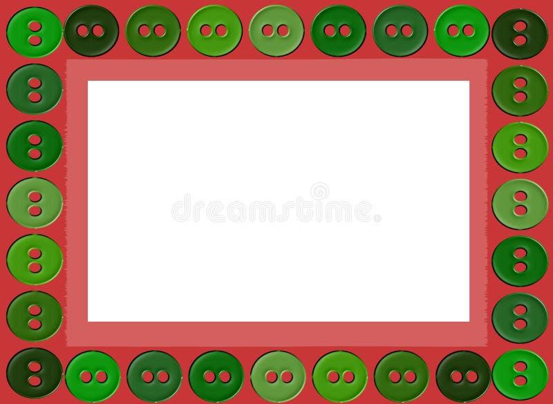 Illustrazione della struttura dei bottoni immagine stock libera da diritti