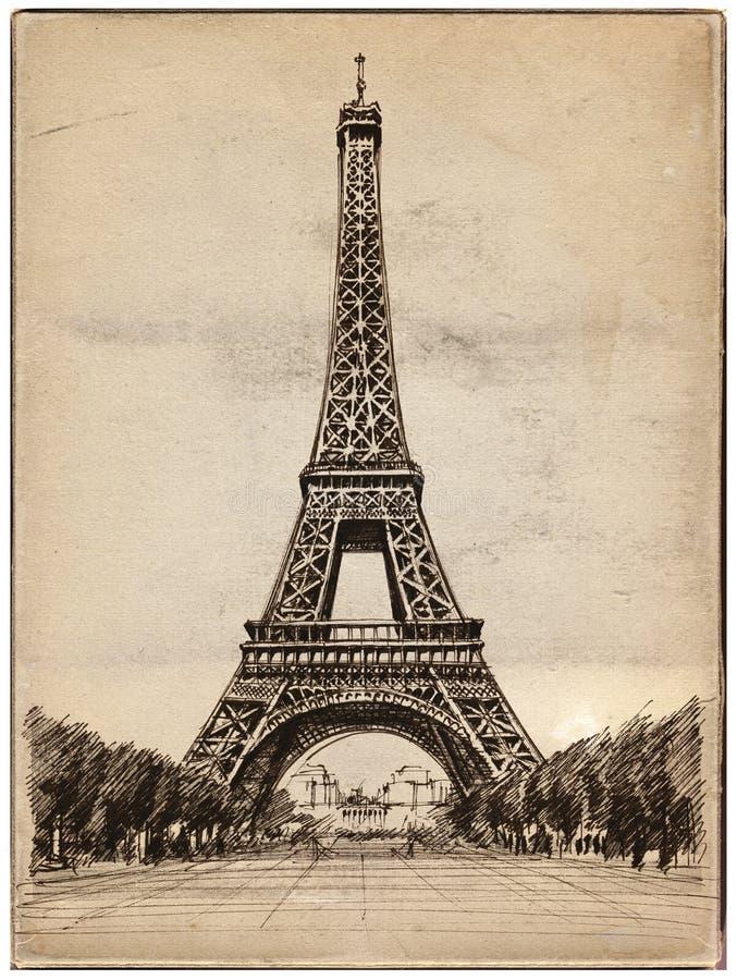 Illustrazione della Torre Eiffel