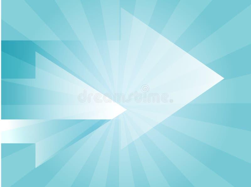 Illustrazione delle frecce illustrazione vettoriale